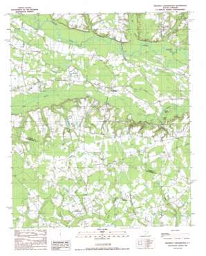 Prospect Crossroads USGS topographic map 33079g5