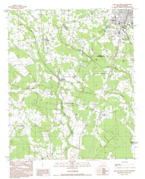 Lake City West USGS topographic map 33079g7