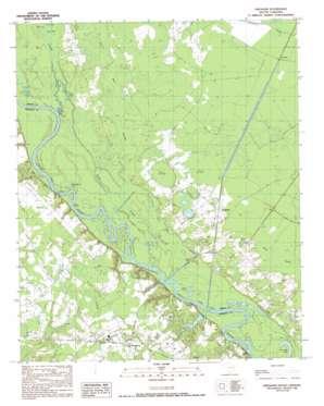 Gresham topo map