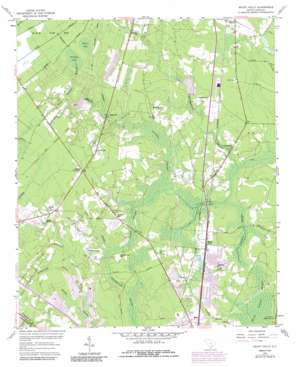 Mount Holly topo map