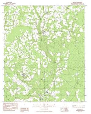 Williams topo map