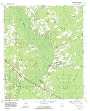 Pringletown USGS topographic map 33080b3