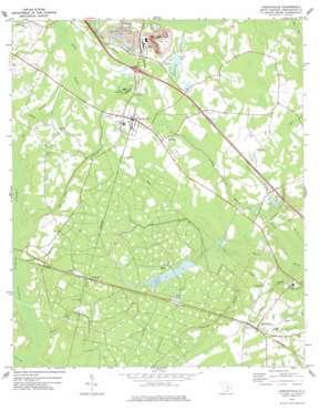 Harleyville USGS topographic map 33080b4