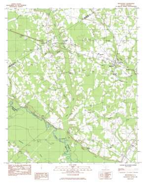 Reevesville USGS topographic map 33080b6