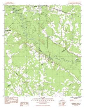 Branchville South USGS topographic map 33080b7
