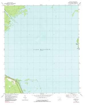 Chicora topo map