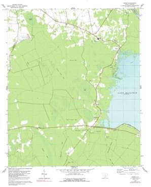 Cross topo map