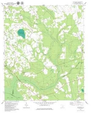 Sandridge topo map