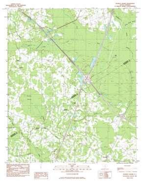 Wadboo Swamp USGS topographic map 33080c5