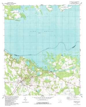 Eutawville USGS topographic map 33080d3