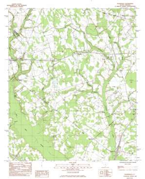 Felderville topo map