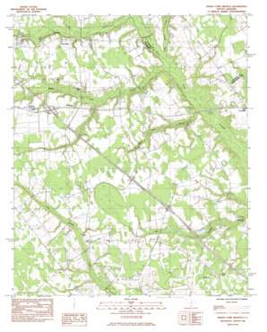 Indian Camp Branch topo map
