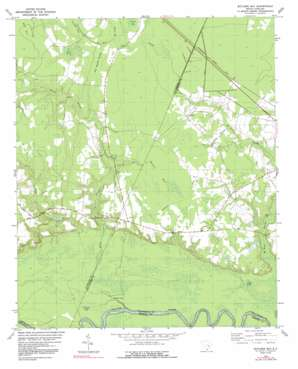 Butlers Bay topo map