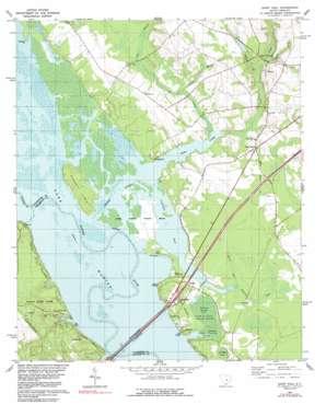 Saint Paul topo map