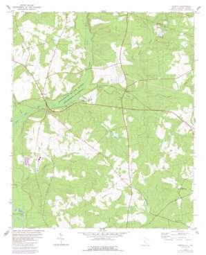 Martin topo map