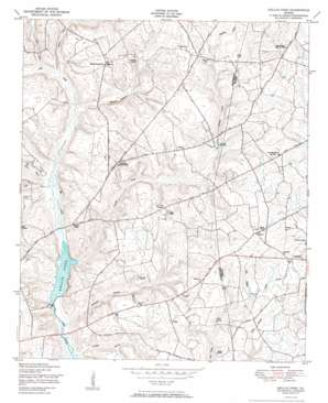 Kellys Pond topo map