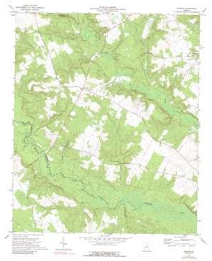 Grange topo map