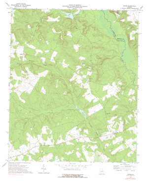 Downs topo map