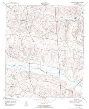Storys Millpond topo map