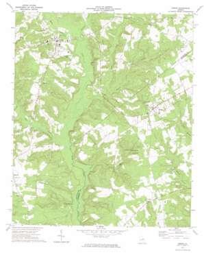 Gibson topo map