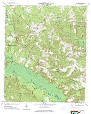 Mitchell topo map