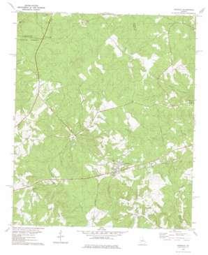 Haddock topo map