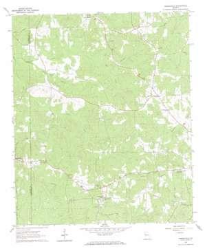 Odessadale topo map