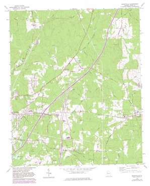 Mountville topo map