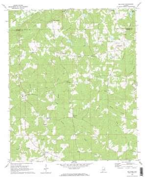 Milltown topo map