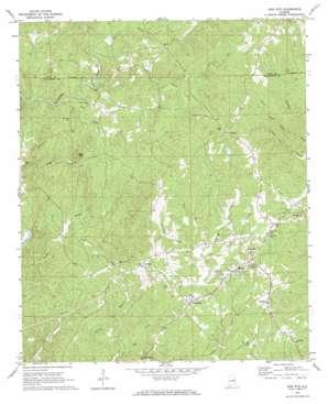 New Site topo map