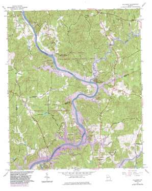 Hillcrest topo map