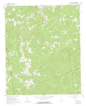 Glenn topo map