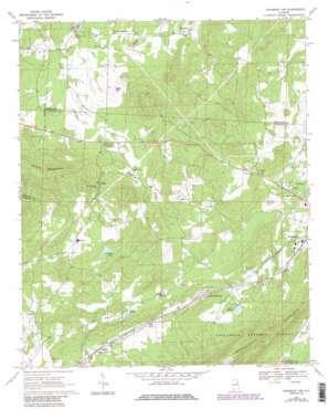 Piedmont Nw topo map