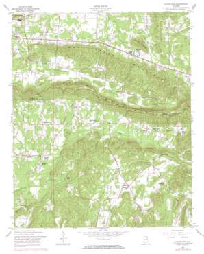 Colvin Gap topo map