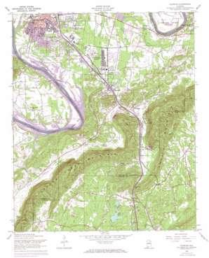 Glencoe topo map