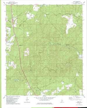 Ozan topo map