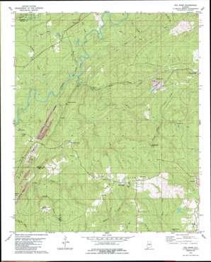 Pea Ridge topo map