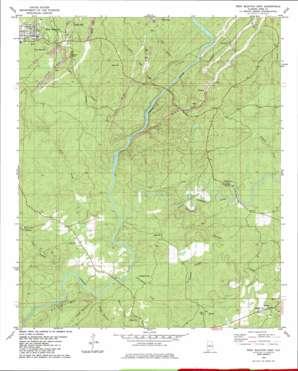 West Blocton East topo map