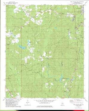 West Blocton West topo map