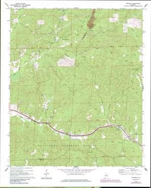 Pearson topo map