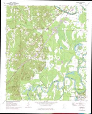 Fosters topo map