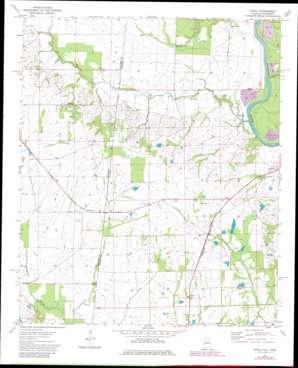 Dancy topo map