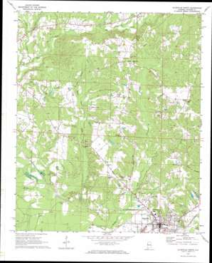 Aliceville North topo map