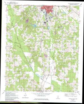 Louisville South topo map