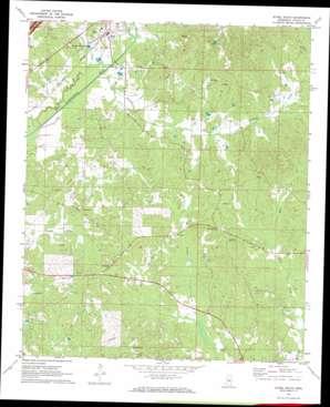 Ethel South topo map