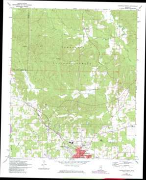 Louisville North topo map