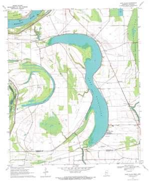 Glen Allan topo map