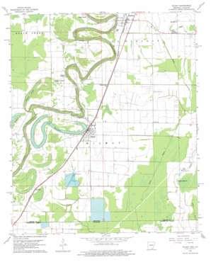 Wilmot topo map