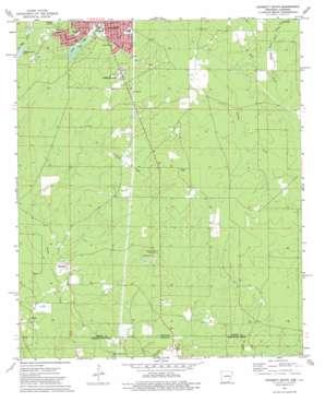 Crossett South topo map