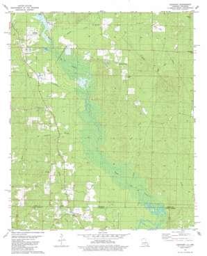 Lockhart topo map